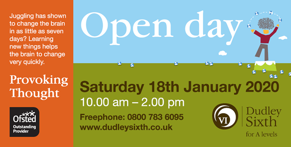 Open Day January 2020